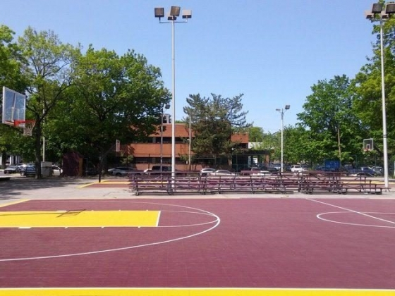 Outdoor Basketball Courts - 4th Street Park - Mount Vernon, NY