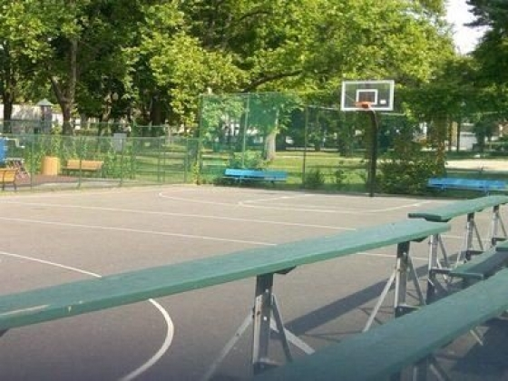 Outdoor Basketball Courts - Hartley Park Playground - Mount Venon, NY
